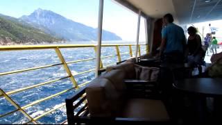 морская прогулка к горе Афон (Греция)(, 2012-06-26T22:34:20.000Z)