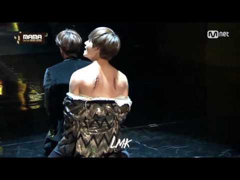[MAMA 2016] Jin and V - BTS