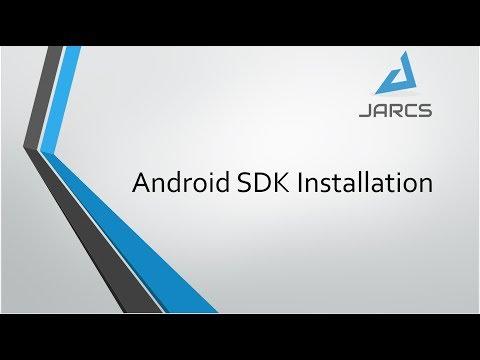 Android Sdk Installation