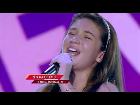 Pérola Crepaldi canta 'Memory' no The Voice Kids - Audições 1ª Temporada