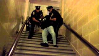 Vietnam Veteran Abused by Wisconsin Capitol Cops, August 1, 2013