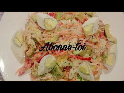 salade-d'avocat-aux-oeufs😋