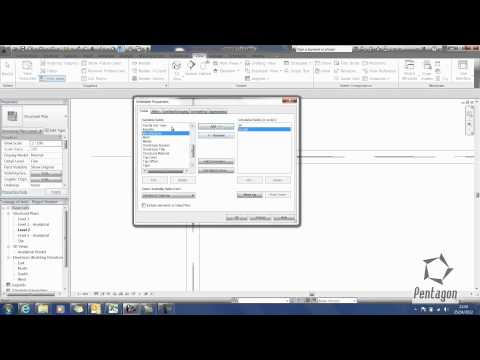 Calculating Tonnage of Steel in Revit Structure 2013.wmv
