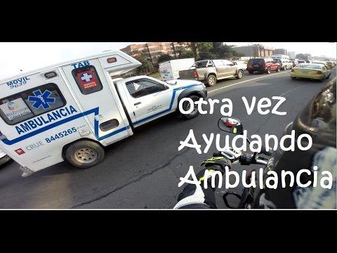 Otra Vez Ayudando Ambulancia En Bogota