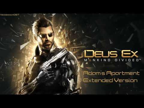 Deus Ex: Mankind Divided OST Soundtrack - Adam's Apartment [Extended Version]