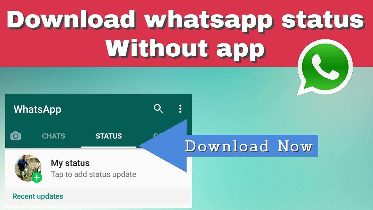 Download whatsapp status video without App in Hindi by Tech Aventure