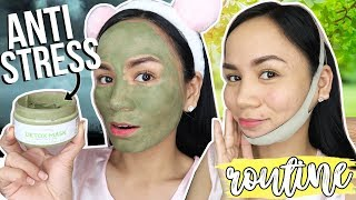 TANGGAL STRESS!! | SKIN CARE ROUTINE for NIGHT TIME ❤