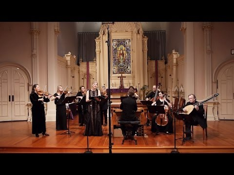 Handel: Lascia ch'io pianga (Rinaldo); Voices of Music with Kirsten Blaise, soprano
