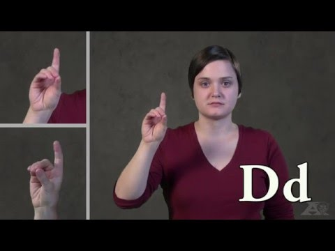 Alphabet In American Sign Language