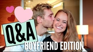 WIE HABEN WIR UNS KENNENGELERNT? Hochzeit, Kinder & Co. - Q&A Boyfriend Edition #mandaqanda