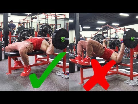 HOW NOT TO BENCH PRESS!