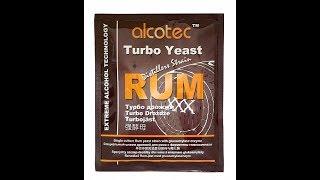 Самогон из варенья! Спиртовые дрожжи Alcotec Rum Turbo с глюкоамилазой, 73 г Часть 79
