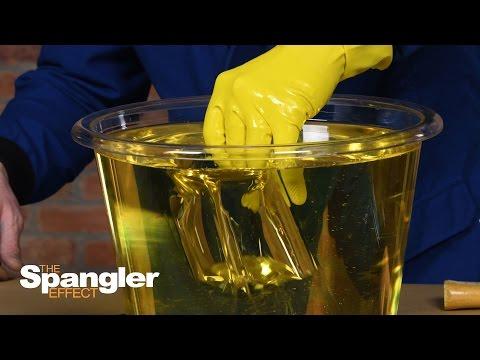 Amazing Way to Repair Broken Glass - Incredible Science Trick