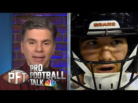 Chicago Bears' Mitchell Trubisky Bothered By Outside Criticism | Pro Football Talk | NBC Sports