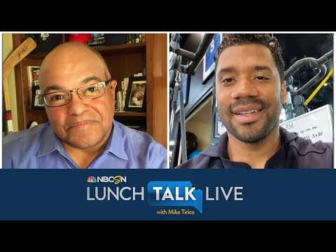 Russell Wilson on importance of giving back during Covid-19 pandemic | Lunch Talk Live | NBC Sports
