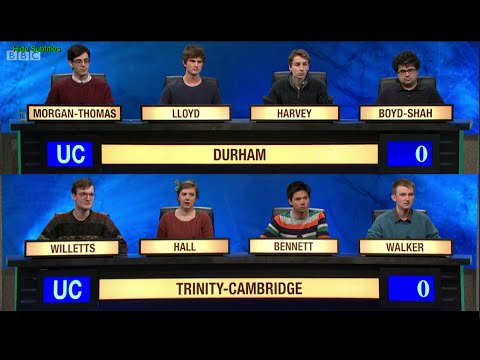 University Challenge S44E32 Durham vs Trinity Cambridge