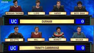 University Challenge S44E32 Durham vs Trinity Cambridge