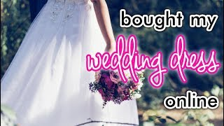 Buying my Wedding Dress ONLINE from LightInTheBox | Tips, Budgeting, Pros & Cons | Amethystra Bits