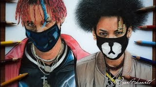 Drawing Ayo & Teo ✍😊