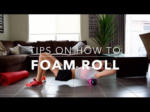How To Foam Roll!