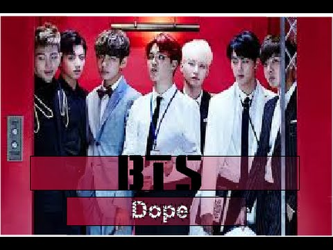 BTS - Dope - ( karaoke with lyric )
