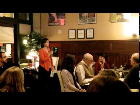 Aaron Dority and Carla Guenther at Hourglass Brasserie