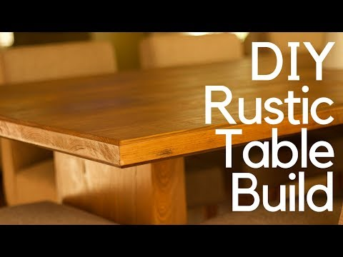 DIY Rustic Table Build
