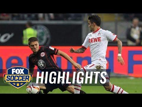 Eintracht Frankfurt vs. 1. FC Koln - 2015–16 Bundesliga Highlights