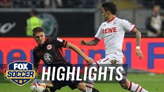 Eintracht Frankfurt vs. 1. FC Koln - 2015–16 Bundesliga Highlights