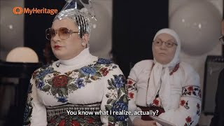 Смотреть Verka Serduchka My heritage. Андрей Данилко генетический тест онлайн