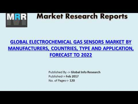 Electrochemical Gas Sensors Market Size - Industry Analysis 2012 to 2017 and Assessment 2017 – 2022