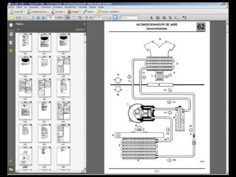 Renault Trafic II  Manual de Taller  Service Manual  Manuel Reparation  YouTube