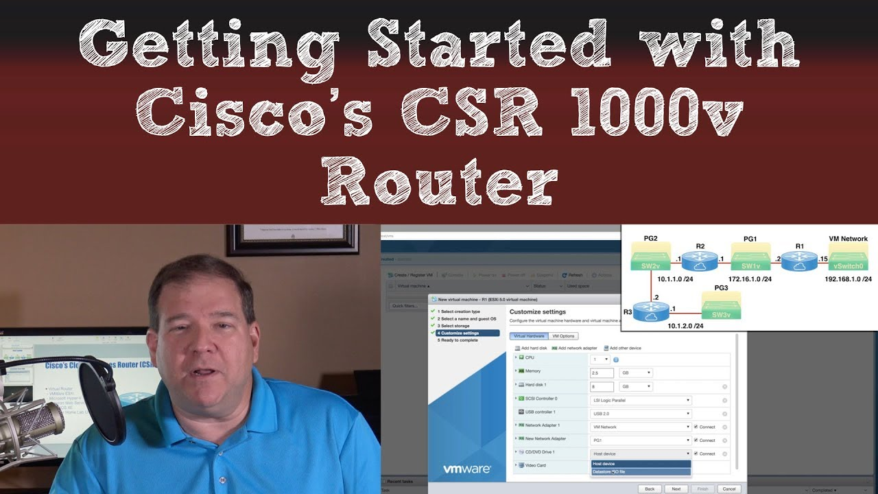 Getting Started with Cisco's CSR 1000v Router