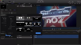 Learn how to work with Environments in mO2 Apple Motion & FCPX Plugin