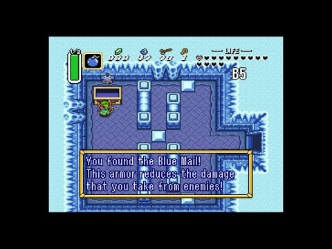 Let's Play A Link to the Past Dark World Dungeon 5