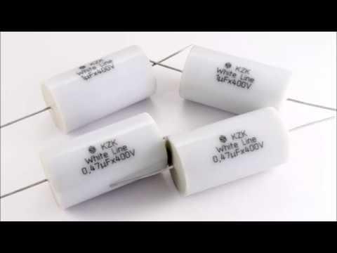 Аудио конденсаторы kzk