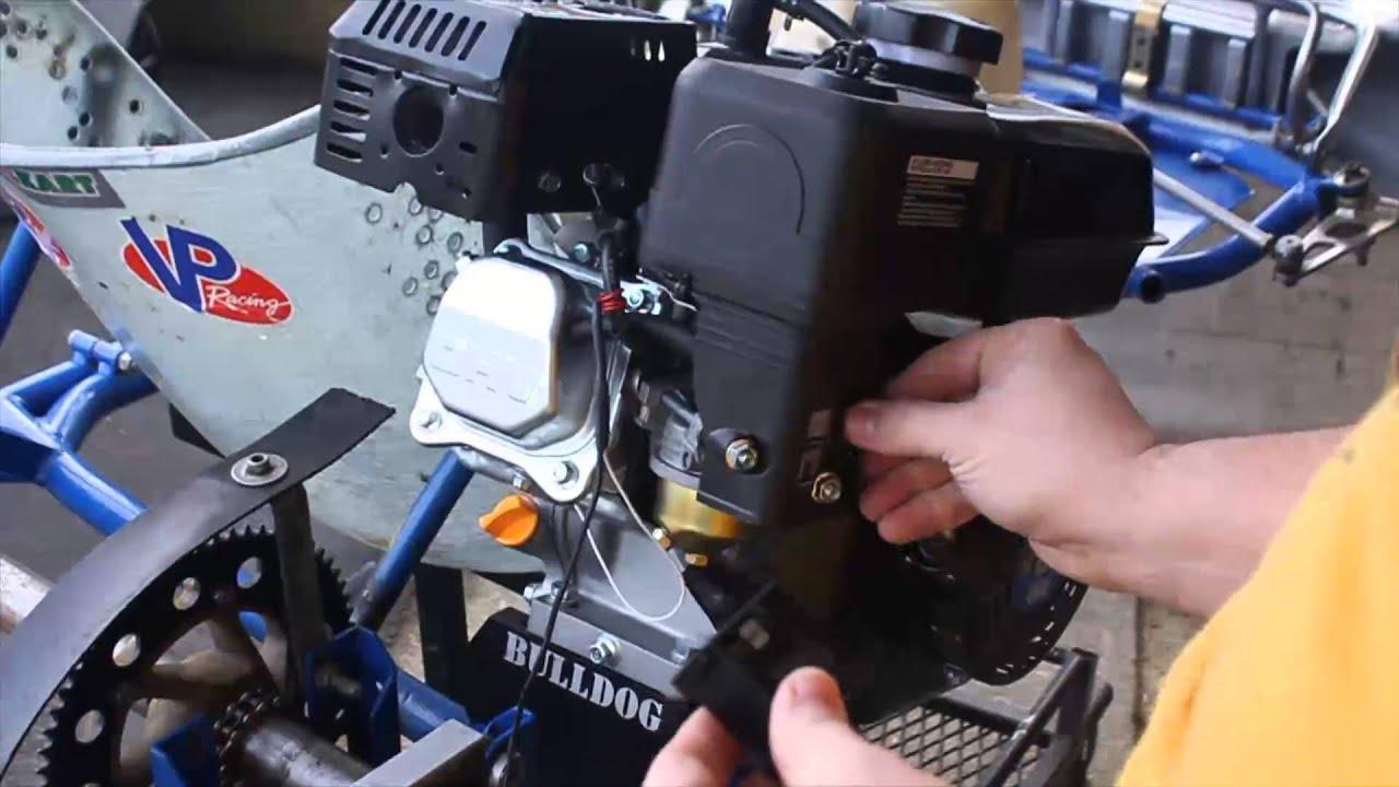 medium resolution of esobofh s kart build ep 1 pt 3 first fire tach install