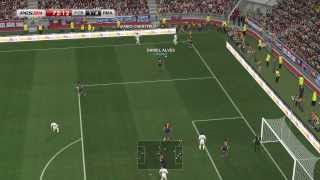 PES 2014 - Real Madrid vs Barcelona Gameplay PC