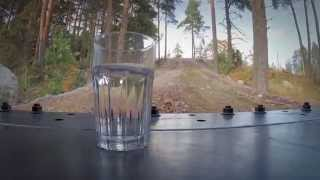 Balance Challenge(Watch a skilled operator balancing a glass of water with a wheel loader on a bumpy road. Follow the action at volvooceanrace.volvoce.com., 2015-01-23T13:52:23.000Z)