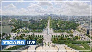 🌳 Voici à quoi pourraient ressembler Champs-Elysées en 2030