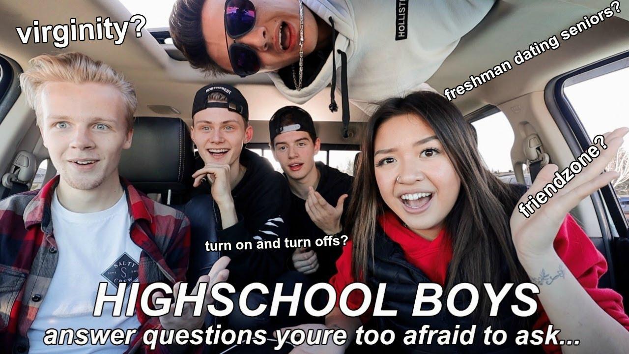 High school senior Freshman dating