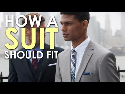 How A Suit Should Fit | The Art of Manliness