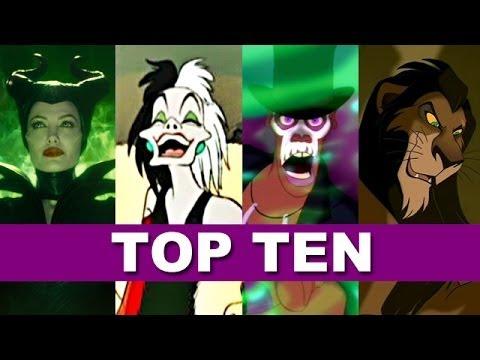 Top Ten Disney Villain Songs - Beyond The Trailer DISNEY