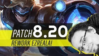 OMÓWIENIE ZMIAN W PATCHU 8.20 LEAGUE OF LEGENDS