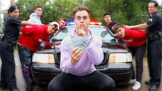 Last One To Get Arrested Wins $10,000 (HIDE AND SEEK)