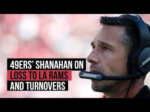 49ers' Shanahan On NFL Week 7 Loss To LA Rams