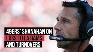 49ers' Shanahan on NFL week 7 loss to LA Rams thumbnail
