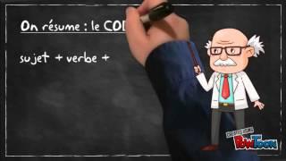 Cours de grammaire: COD/COI