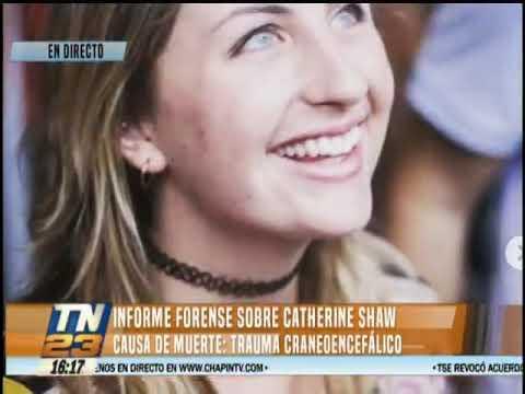 INACIF dio a conocer la causa de muerte de Catherine Shaw