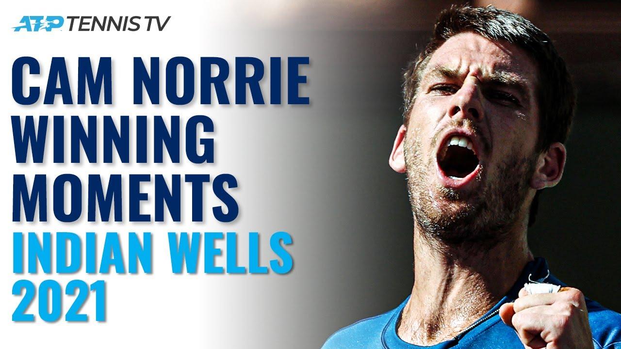 Cam Norrie: Championship Point, Trophy Lift & Speech! | Indian Wells 2021 Highlights
